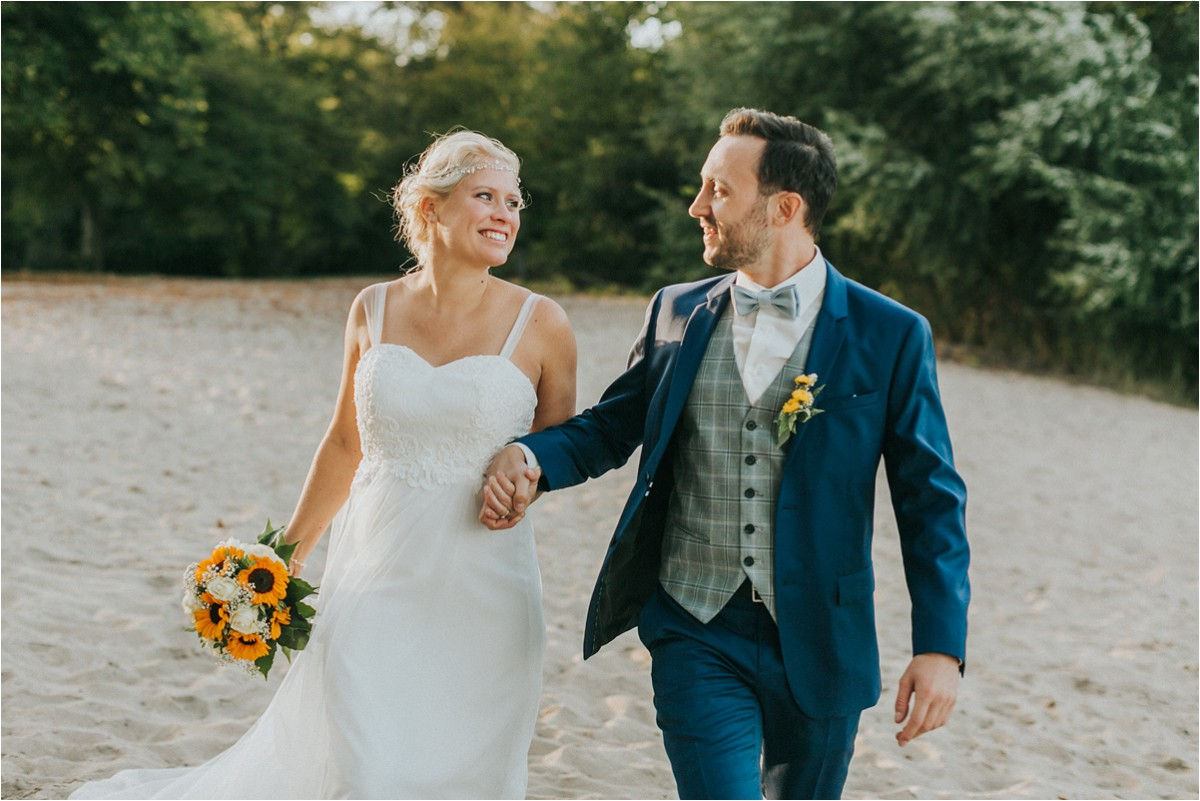 After Wedding Shooting Weingarten